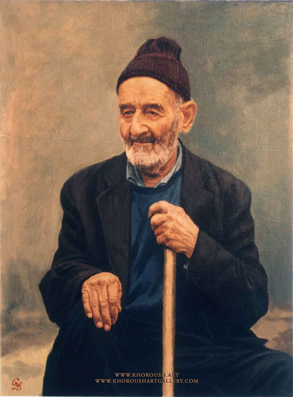 Rustic Old Man